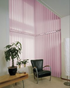 Pink Office Blinds